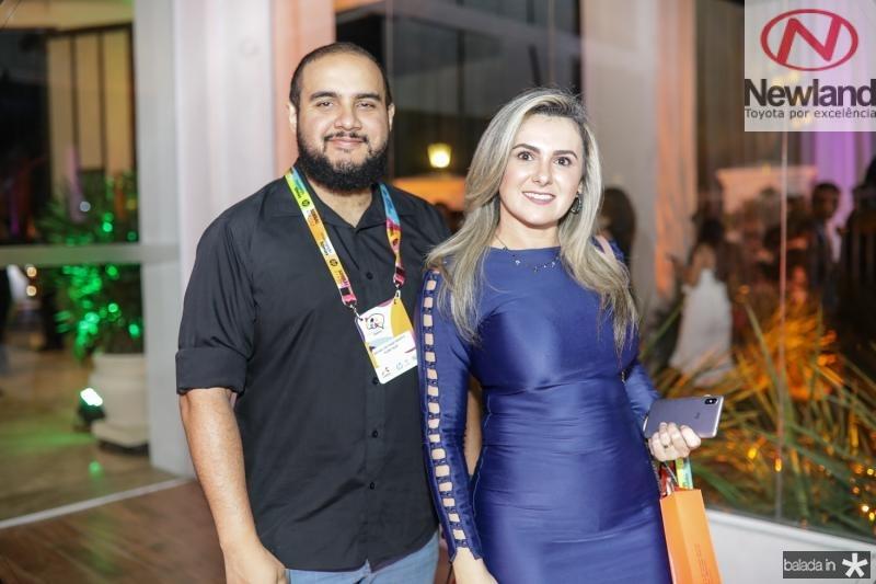 Rafael Nascimento e Paula Santos