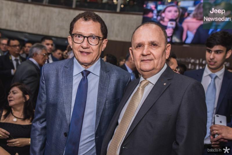 Elpidio Nogueira e Francisco Caminha