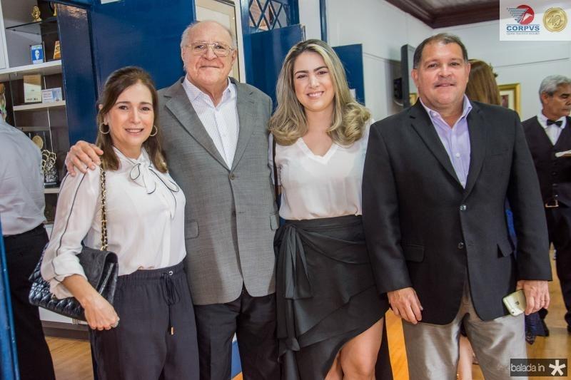 Adriana Teixeira, Luis Marques, Ana Carolina Marques e Luis Marques Filho
