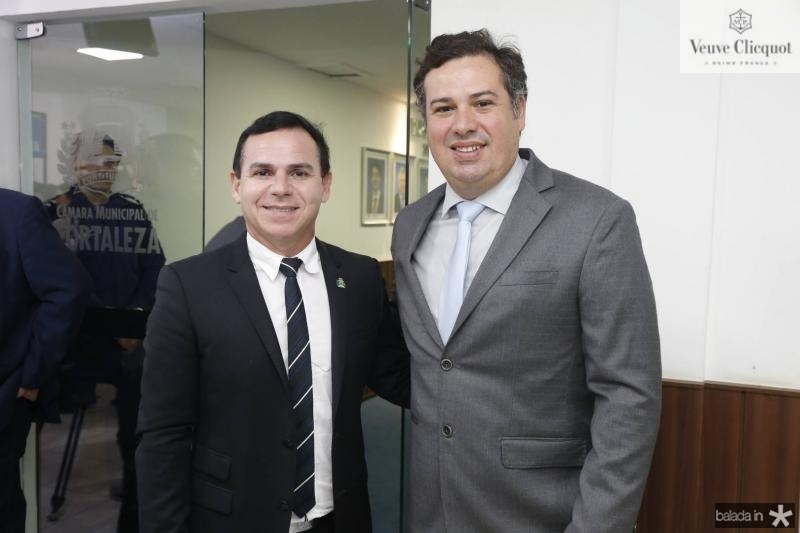 Alexandre Tavora e Samuel Dias