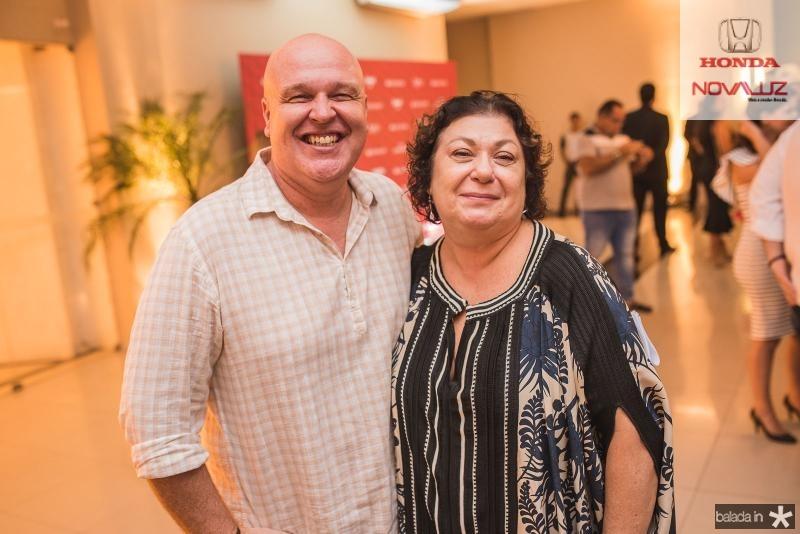 Ricardo Wertchko e Simone Souto