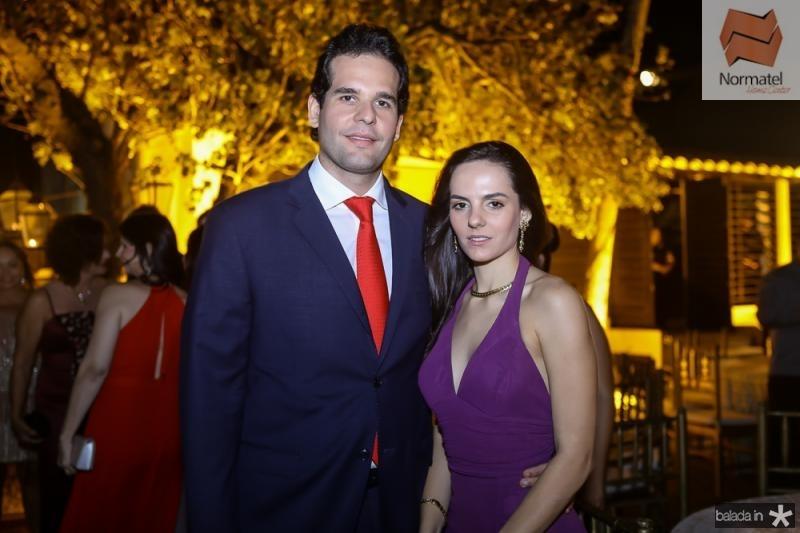 Joao Fiuza e Natalia Carvalho