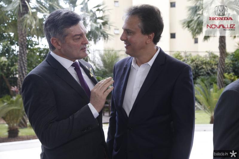 Cid Marconi e Camilo Santana