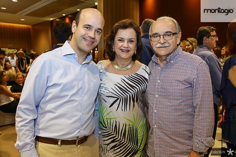 Henrique, Leninha e Ednilton Soarez