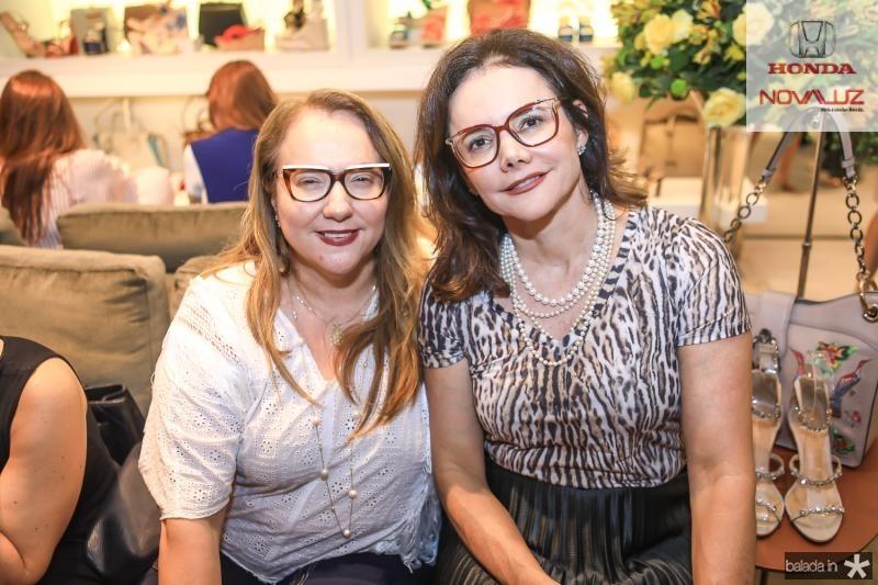 Luisiane Cavalcante e Cristiana Araujo