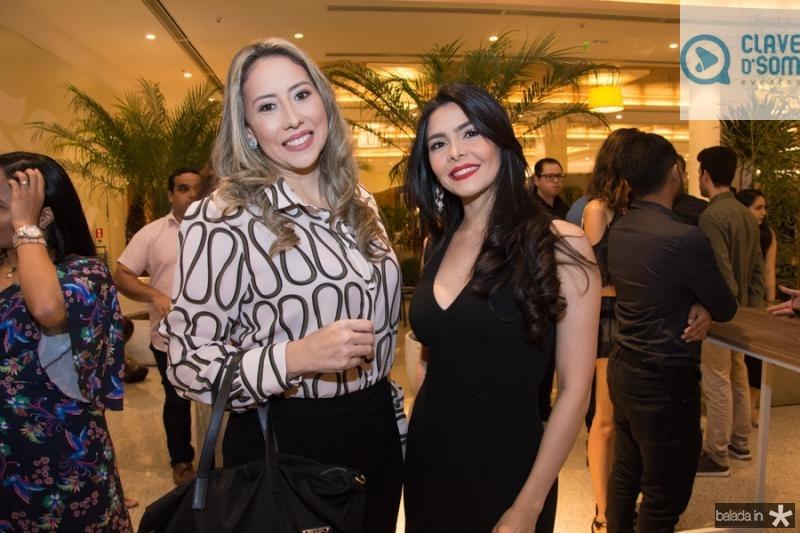 Raquel Franca e Nati Ximenes