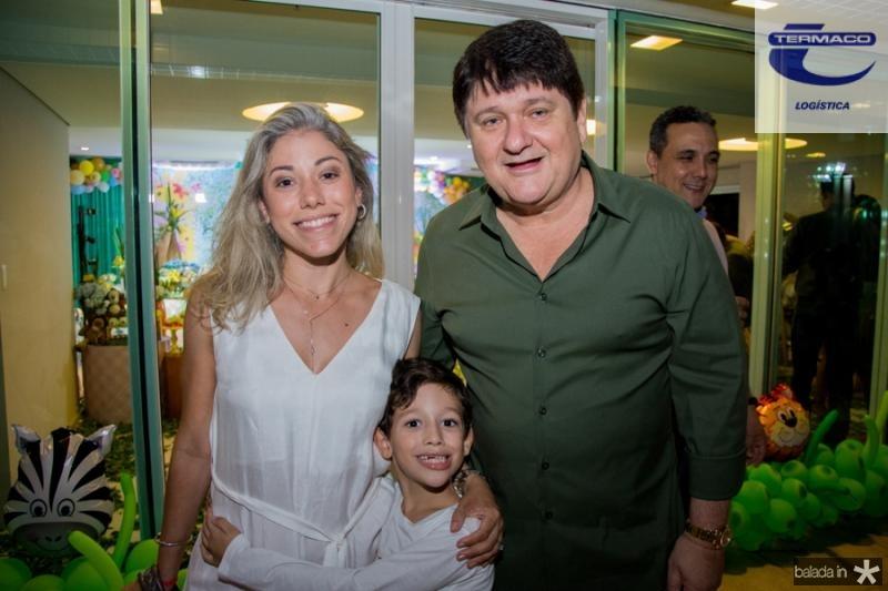 Rejane e Guilherme Belchior e Afonso Benevides