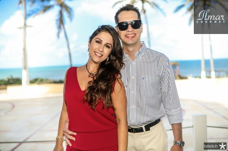 Paula Ruano e Gabriel Marchi