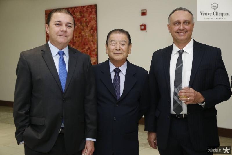 Eliseu Barros, Orlando Cubo e Julio Cosentino