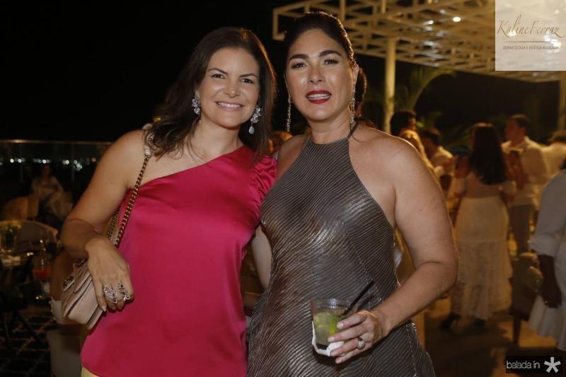 Christiane Melo e Izabela Fiuza