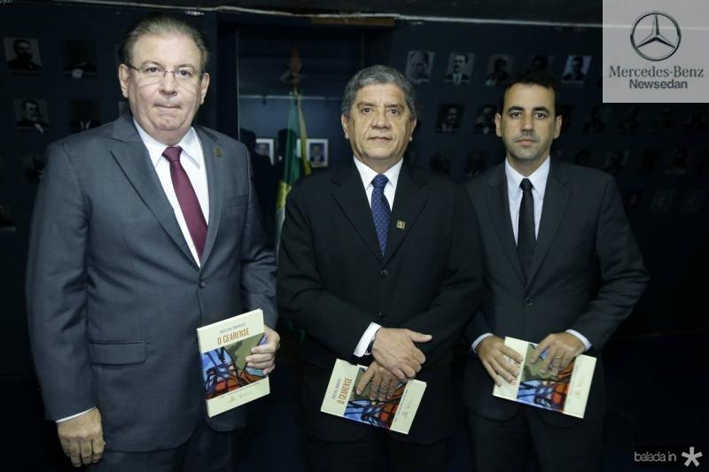 Ricardo Cavalcante, Sampaio e Aluisio Filho