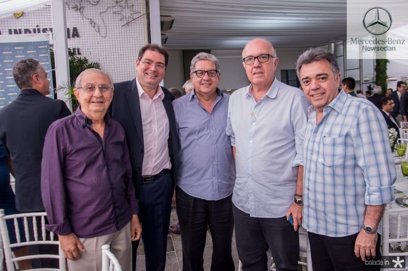 Alvaro Correa, Roberto Ramos, Fred Fernandes, Fernando Antunes Steves e Sergio Steves