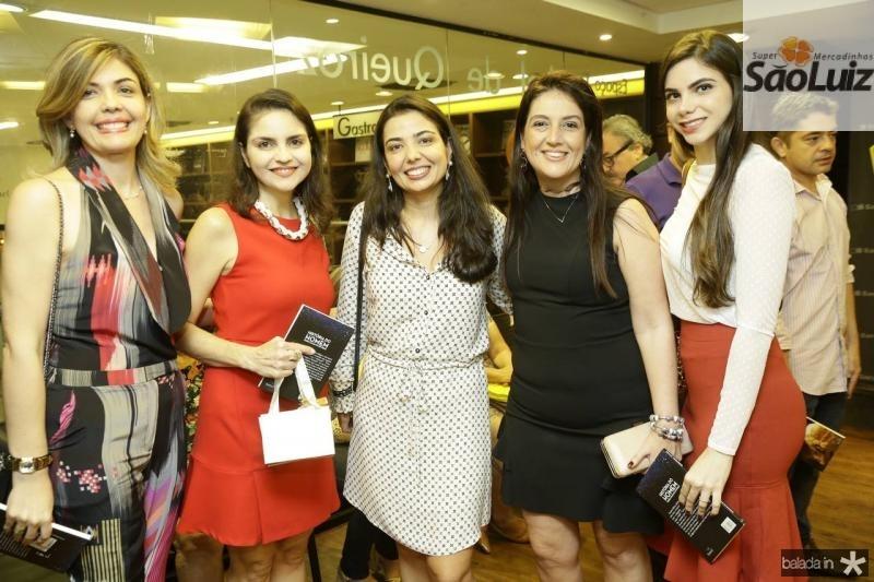 Micheline Forte, Tatiana Tostes, Janaina Noleto, Lana Trigueiro e Mikaela Ferreira