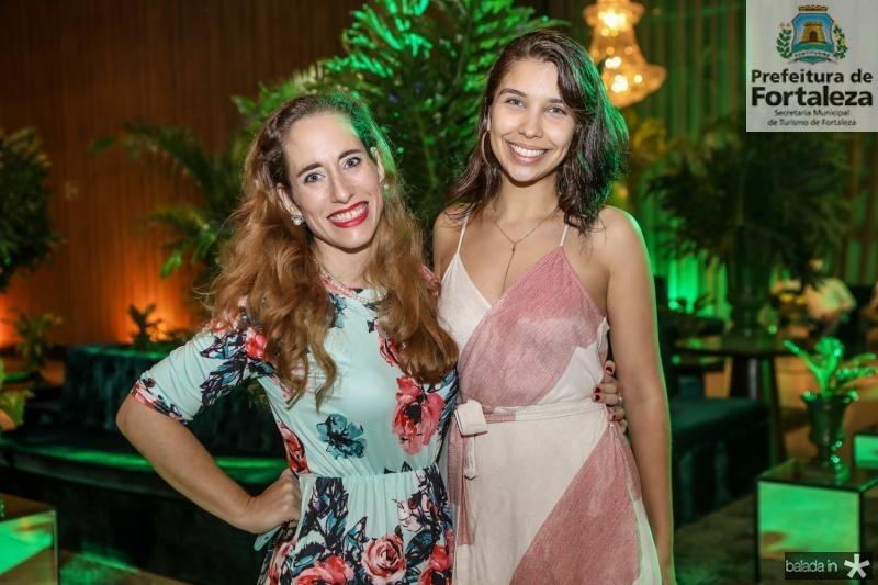 Joanne Ximenes e Carolina Medeiros