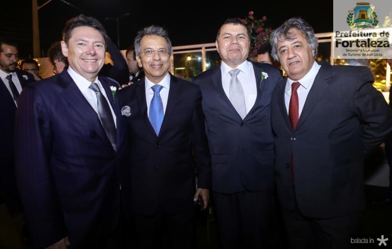 Ivens Dias Branco Junior, Eduardo Rolim, Duarte Frota e Roberto Romcy