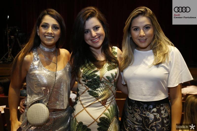 Mayara Coelho, Margareth Moura e Thays Pimentel