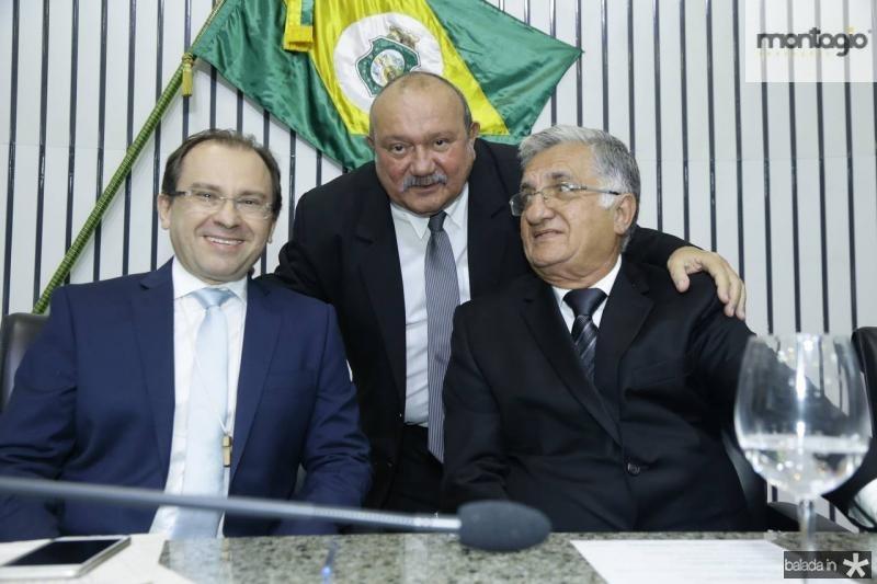 Carlos Matos, Fernando Hugo e Sergio Benevides