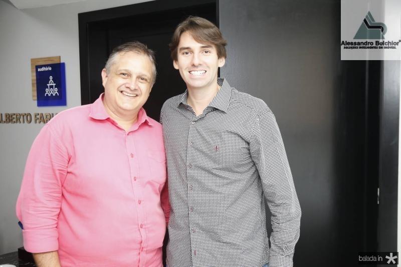 Gray Sampaio e Paulo Teixeira