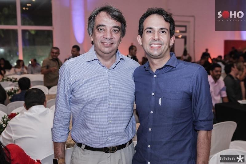 Carlos Gualter e Gaudencio Lucena Junior