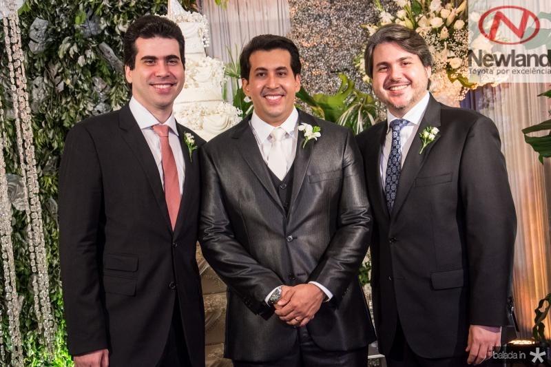 Victor, Daniell e Bosco Filho Rios