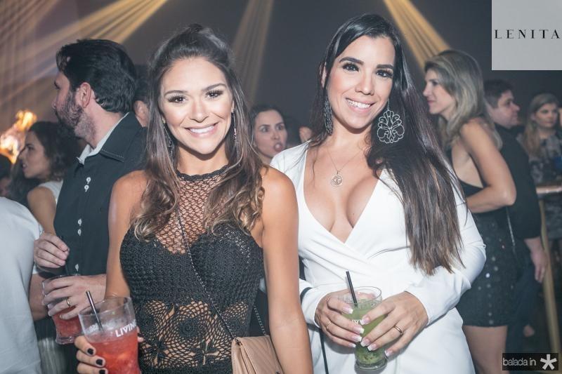 Amanda Monteiro e Alessandra Taumaturgo