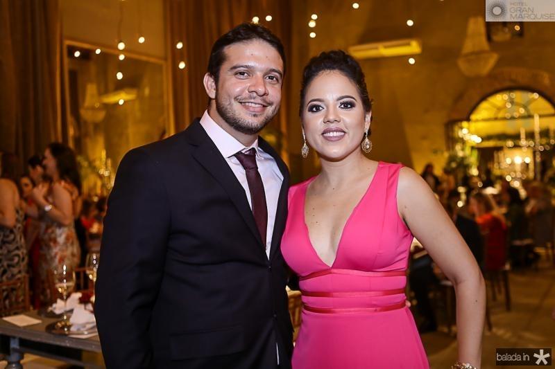 Fabio Roberto e Caroline Louise