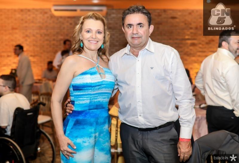 Alane Bianchi e Roberto Bonfim
