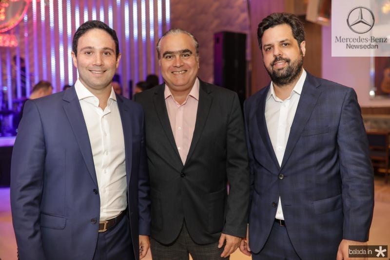 Tiago Asfor, Helio Parente e Cassio Pacheco