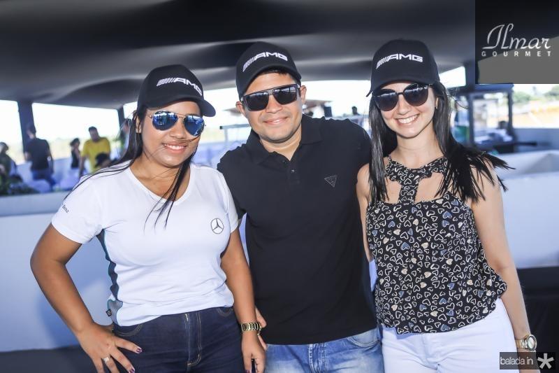 Daiane Teixeira, Antino de Castro e Valda Gomes