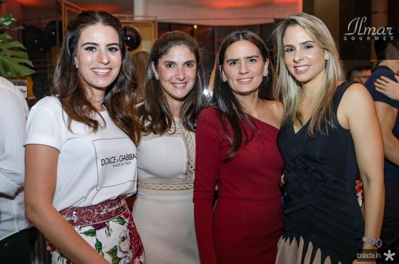 Natasha Pinheiro, Sidia Bizarria, Geruza Aguiar e Ingrid Gurgel