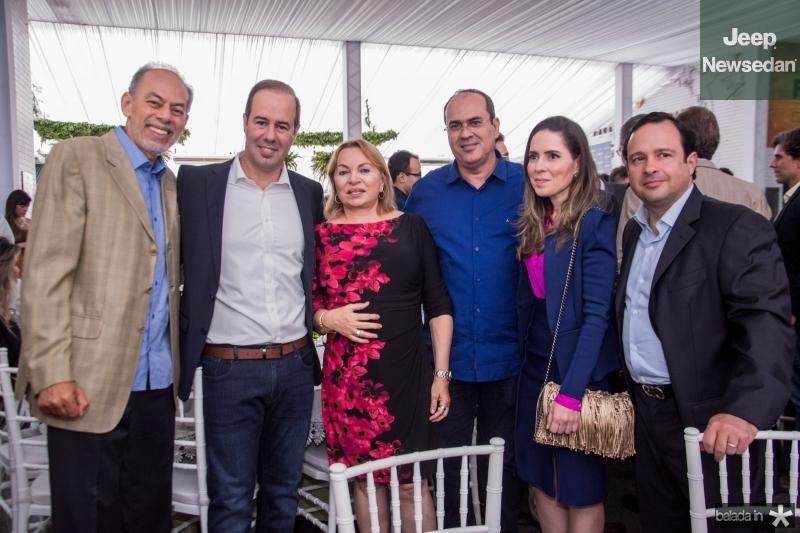 Inacio Arruda, Cesar Ribeiro, Gorete Pereira, Marcelo Fradic, Agueda Muniz e Igor Barroso