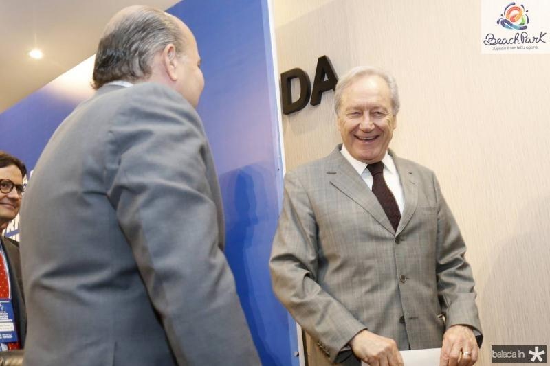 Roberto Claudio e Ricardo Lewandowiski