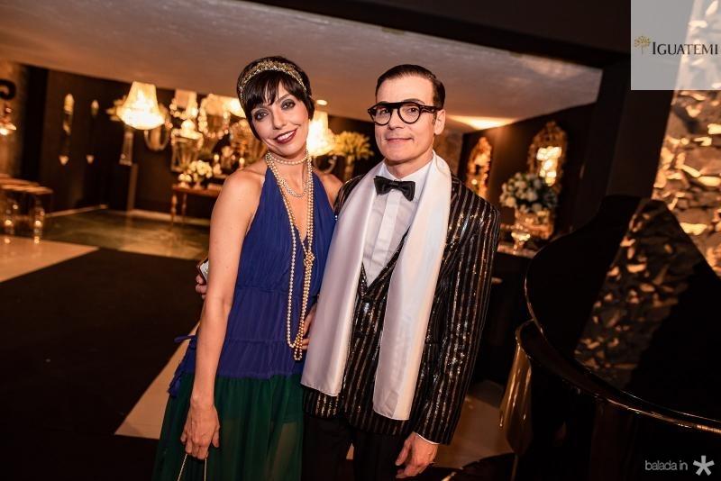 Bianca Cipola e Rodrigo Maia