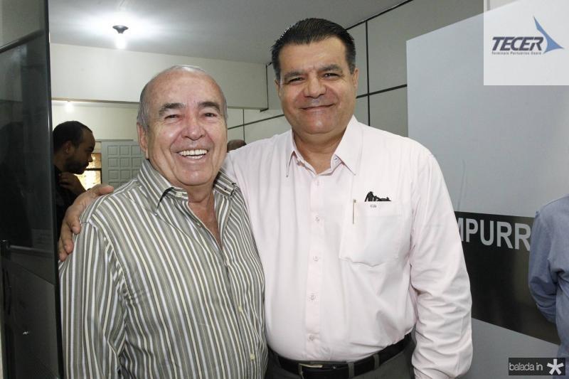 Ubiratan Roberto e Odmar Feitosa