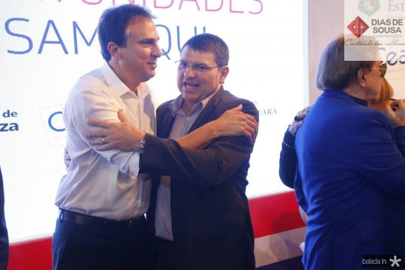 Camilo Santana e Sergio Lopes