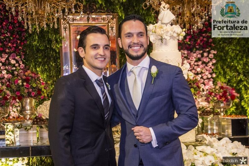 Rodrigo e Roberto Cabral