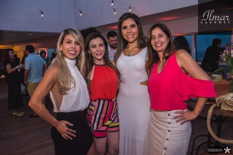 Aloma Silva, Desiree Soares, Ana Rhabena Cabral e Ana Carolina Pinho