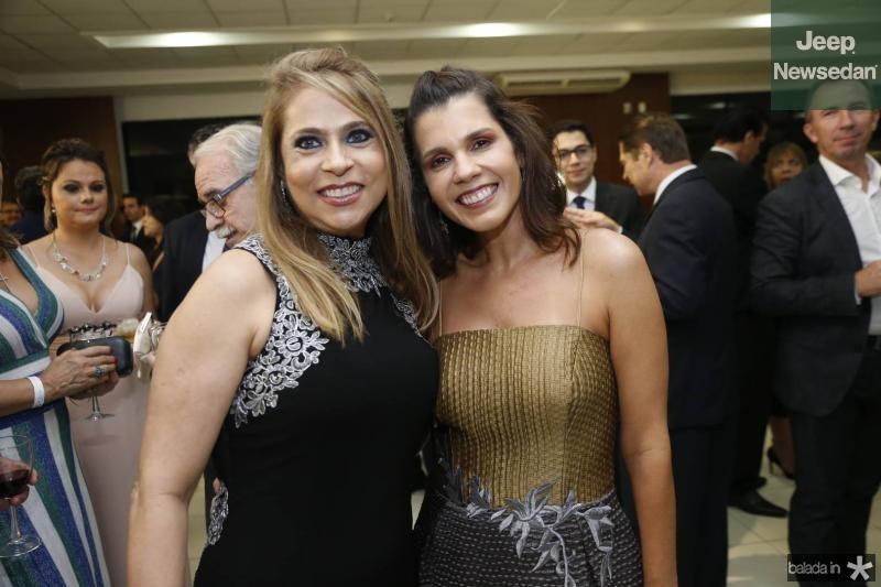 Morgana Linhares e Claudia Diniz