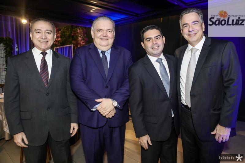 Ricardo Porto, Pedro Jorge Medeiros, Bruno Carra e Rocha Neto