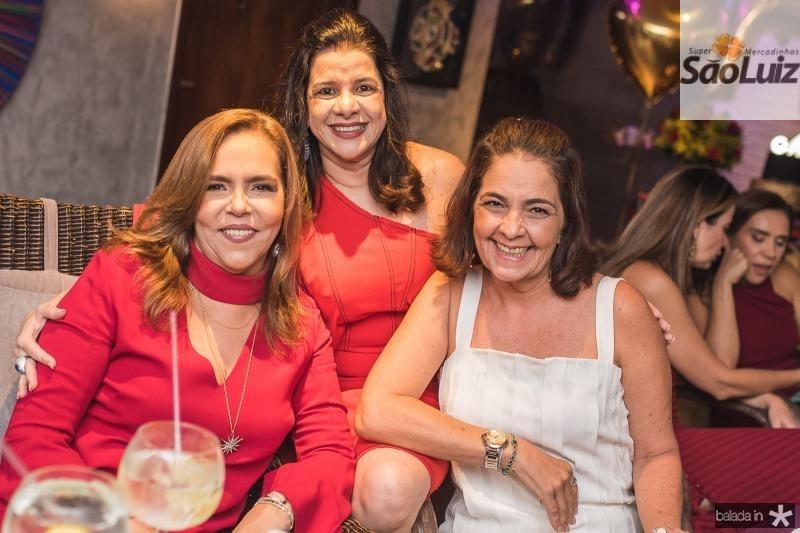 Ailza Ventura, Luciana Lobo e Giana Studart