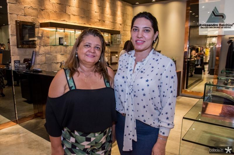 Ciria Lima e Thaisa Fernandes