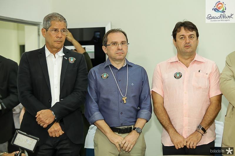 Ramalho Neto, Carlos Matos e Benigno Junior