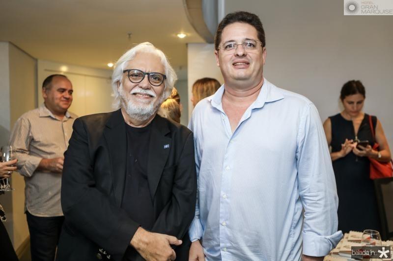 Joaquim Cartaxo e Carlos Luna