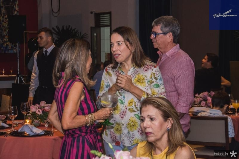 Marcia Tavora e Denise Bezerra