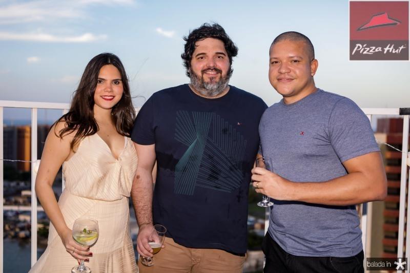 Elena Rosado, Leonardo Pires e Junior Massal