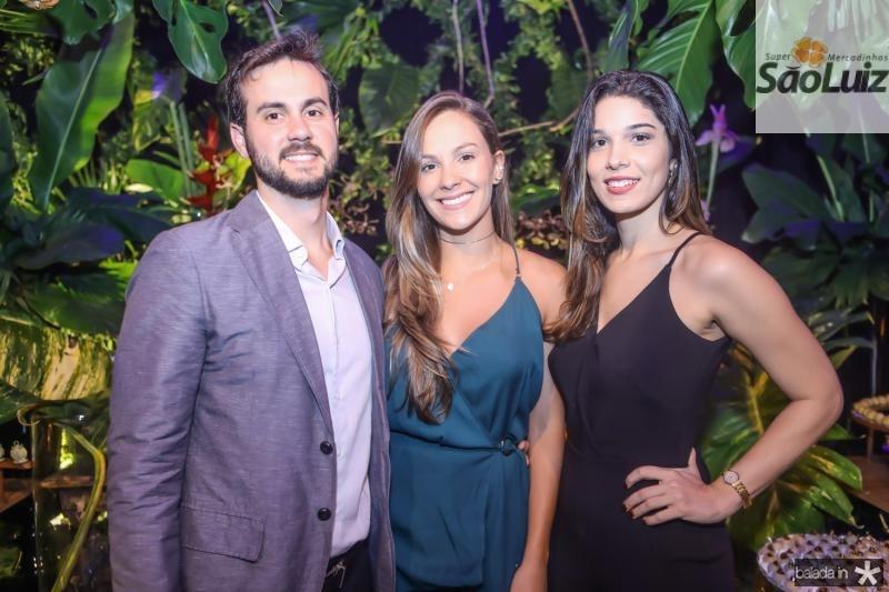 Pedro Amaro, Isabela Resende e Raiana Dias