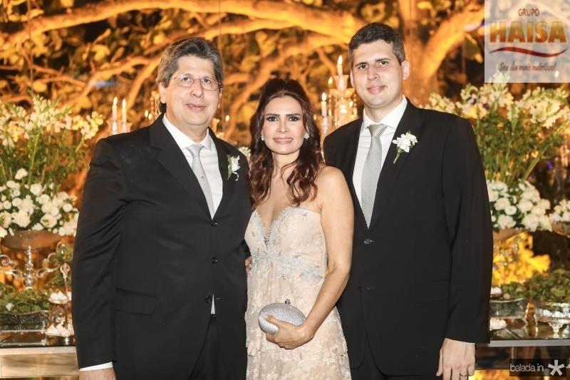 Lucio Bomfim, Lorena e Luciano Pouchain