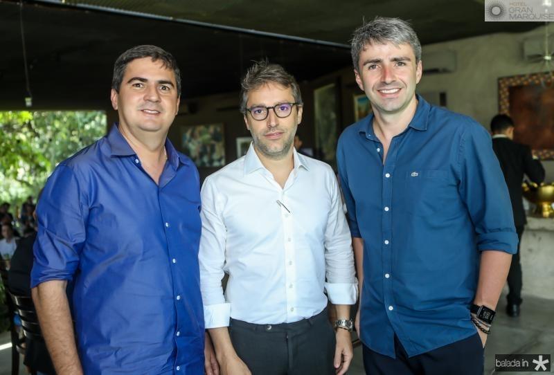 Custodio Gomes, Francisco Marinho e Fabio Albuquerque