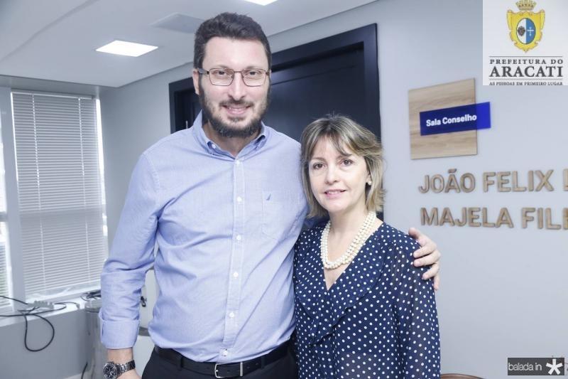 Rodrigo Leite e Circe Jane