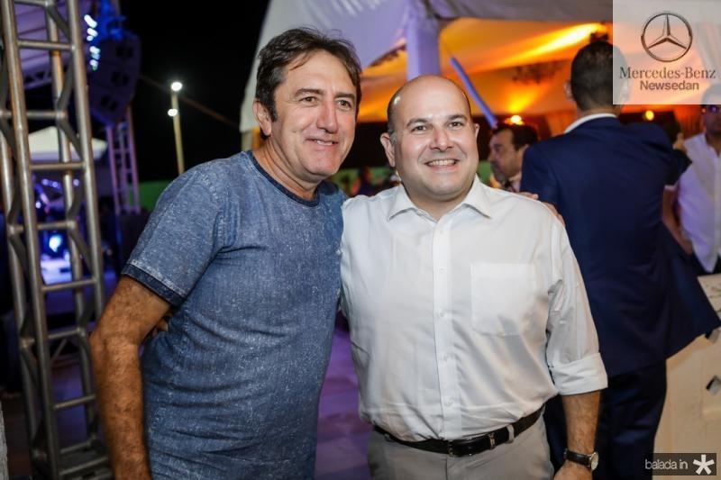 Adail Juinior e Roberto Claudio